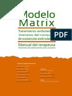 Manual MATRIX Terapeuta
