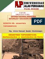 08. Clase. Desastres Topograficos