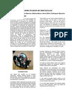 'Myslide.es Paper Robot Evasor de Obstaculos