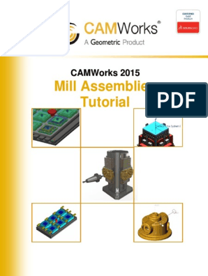 CamWorks Mill Assemblies Tutorial | Dialog Box | Menu