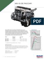 PACCAR MX 13 Euro 6 Engine