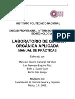 MANUAL DE LAB QUIMICA ORGÁNICA APLICADA CORREGIDO.pdf