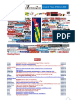 Revue de Presse 20-21 Juin 2010