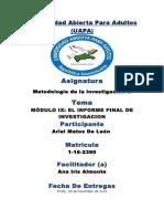 Universidad Abierta Para Adultos tarea 09.docx