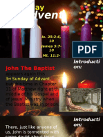 The Bishop's Homily - 3rd Sunday of Advent 2016