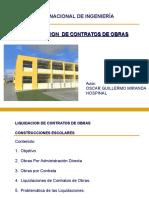 Liquidaciones de Contratos de Obras 2010- II Parte