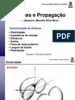 Aula 03 Caracterização II 2016 Antenas