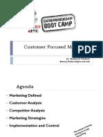 Entrepreneurship Boot Camp Marketing Handout 2014