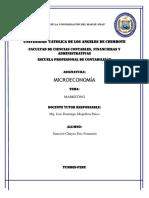 Trabajo Microeconomia
