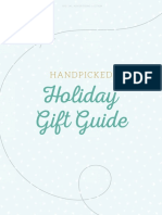 Handpicked Holiday Gift Guide 2016