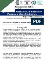 Ejes entre la Alienación y la Abducción Parental y otros sindromes