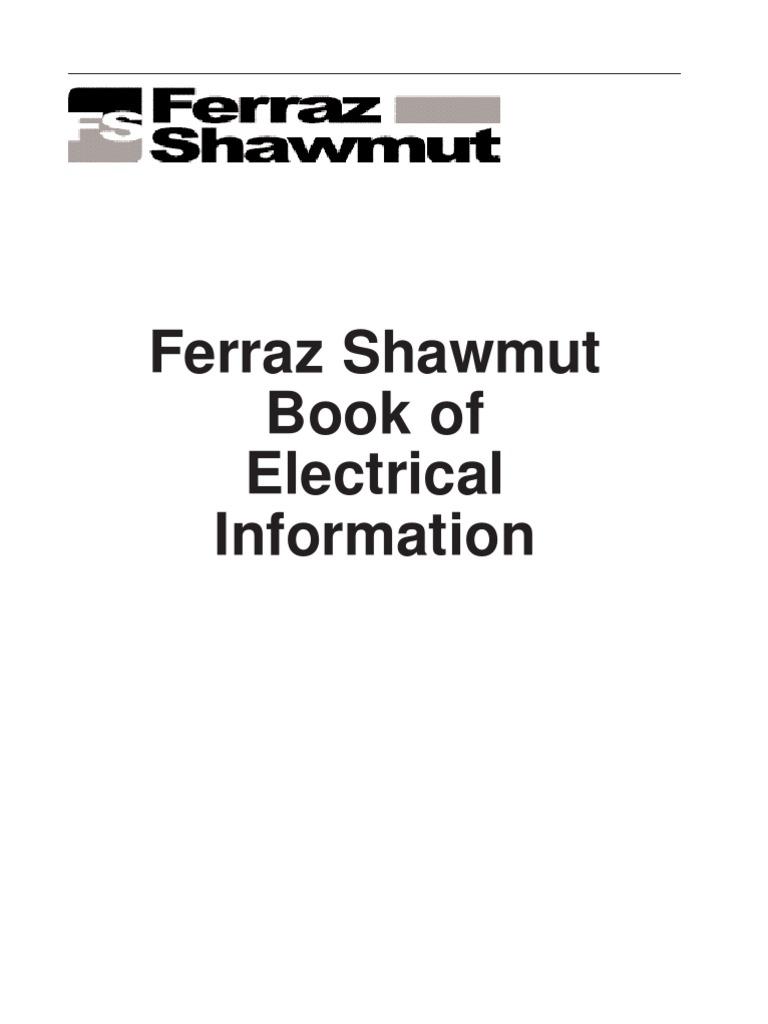 Ferraz Elec Handbook Complete Fuse Electrical Electric Current Figure 12 Schematic Wiring Diagram Dynamotor Welder