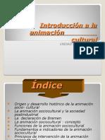 Introducción a La Animación Sociocultural
