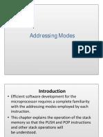 4 Addressing Modes