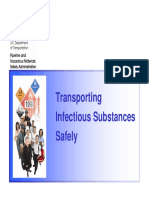 DOT Transporting Infectious Substances