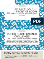 poetry challenge powerpoint