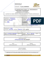 Mod. Contrato Estatal Obra P.U. 2015 Persona Fisíca