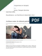 Acciones Contra Violencia Psicologica