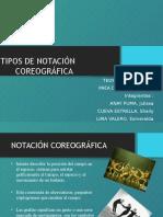 Tipos de Notación Coreográfica
