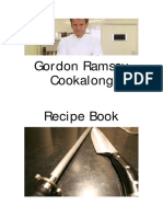 Gordon Ramsay Cookalong Recipe Book