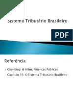 Aula 14 - Sistema Tributário Brasileiro
