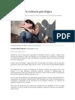 Informes de La Violencia Psicológica