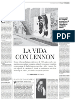 El Mural de Lennon en La Perla.