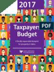 2017 Taxpayers Budget by Idaho Freedom Foundation