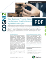 How Business Process Assurance Can Enhance Quality When Applying Agile Methodologies