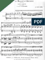 Airs de Ballet (Flauta)- Saint-Saens