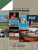 Memoria Anual 2014