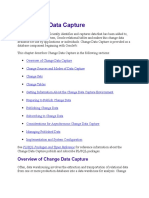16 Change Data Capture