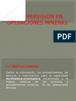Supervision Minera