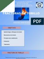 Seminario Fracturas de Tobillo
