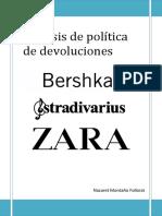 Análisis de Política de Devoluciones