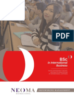 BSc International Business NEOMA BS En