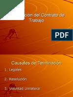 TerminoDel Contrato de Trabajo