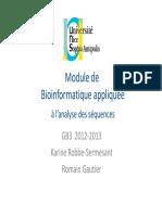 Bioinfo Bases Donnees