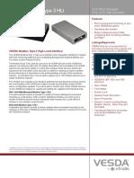 20693 02 VESDA HLI Modbus Protocol VHX-0420 A4 TDS Lores