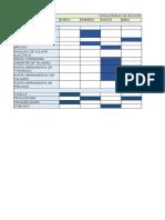 cronograma de revision