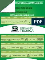 Guias Complementarias (Seminarios) enero 2017