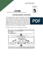 La Direccion - Cap. V.
