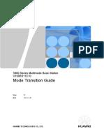 3900 Series Multimode Base Station V100R011C10 Mode Transition Guide