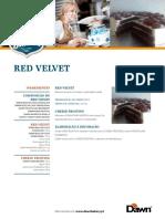 Receita Red Velvet