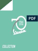 Vespa Range Brochure 2016