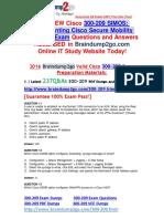 [2016.07 Latest] Cisco 300-209 PDF Dumps 237q [11-20]