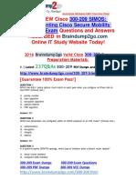 [2016.07 Latest] Cisco 300-209 Dumps 237q [1-10]