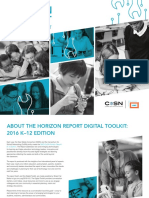 2016 Horizon Report Digital Toolkit