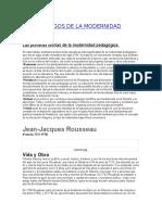 Las primeras teorías de la modernidad pedagógica.docx
