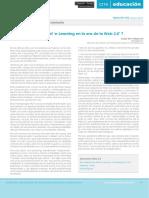 E-Learning en La Era de La Web 2.0